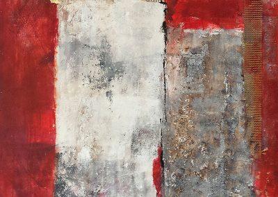 Abstrakt o. T. 100x100 (verkauft)