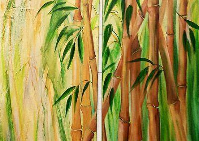 Bambus-Duo