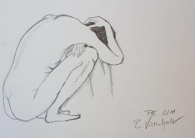 Akt 10 von Barbara Varnholt